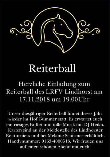 Reiterball 2018